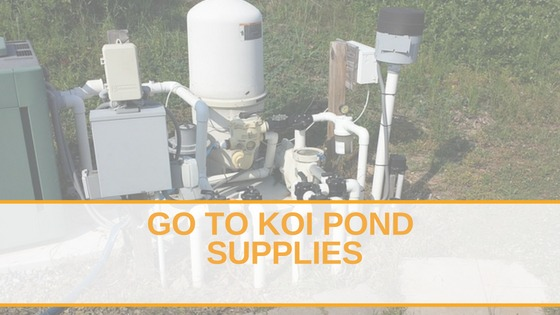 Go To Koi Pond Supplies