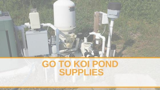 Go To Koi Pond Supplies